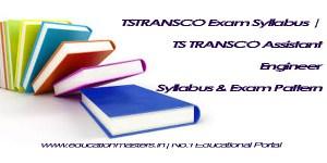 TSTRANSCO Syllabus 2018