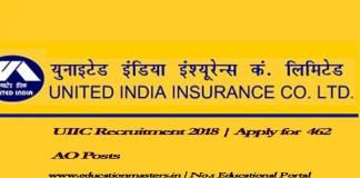 UIIC-Recruitment-2018