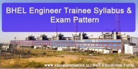 BHEL-Enginee-Trainee-Syllab