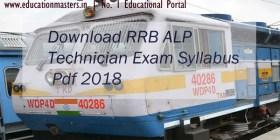 RRB-ALP-Syllabus-2018