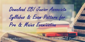 SBI-Jr-Associate-Syllabus-2