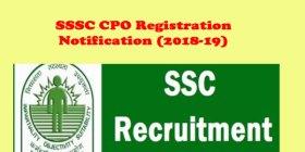 SSC CPO 2018