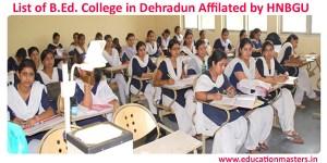 B.Ed college in Dehradun