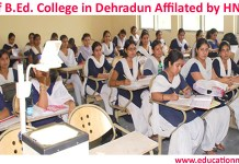 B.Ed college in Dehradun