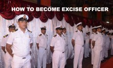 how to become excise officer