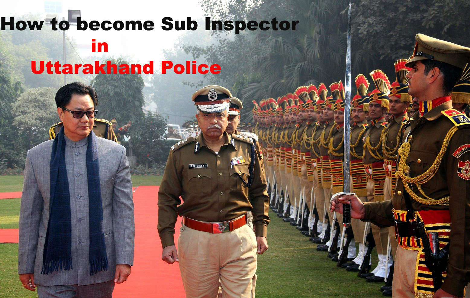 how to become Uttarakhand SI police