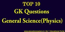top10physicsgk