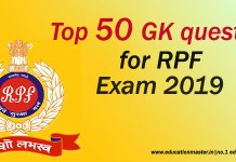50 gk question for rpf