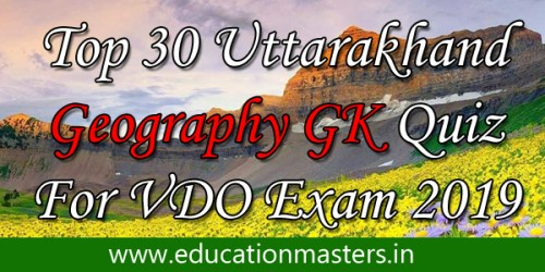 TOP 30 GK QUESTION IN HINDI