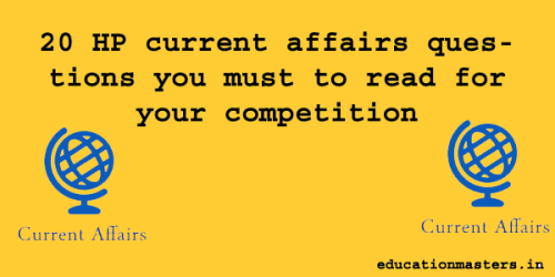 20 current affairs June 2019 questions for your competition