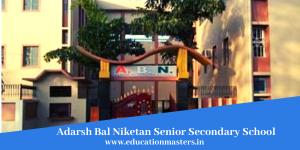 Adarsh Bal NiketanSenior Secondary School (1)