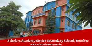 Scholars Academy Senior Secondary School, Roorkee