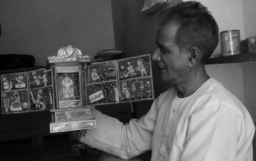 """""""कावड़"""" कलाकार मांगीलाल मिस्त्री और सायर नीर से एक मुलाकात.."""