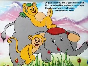 बच्चों की भाषा, बच्चों से बातचीत, ज्ञान का निर्माण