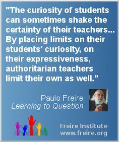 पाओलो फ्रेरे, शिक्षा दर्शन में फ्रेरे के विचार, आलोचनात्मक चेतना के लिए शिक्षा