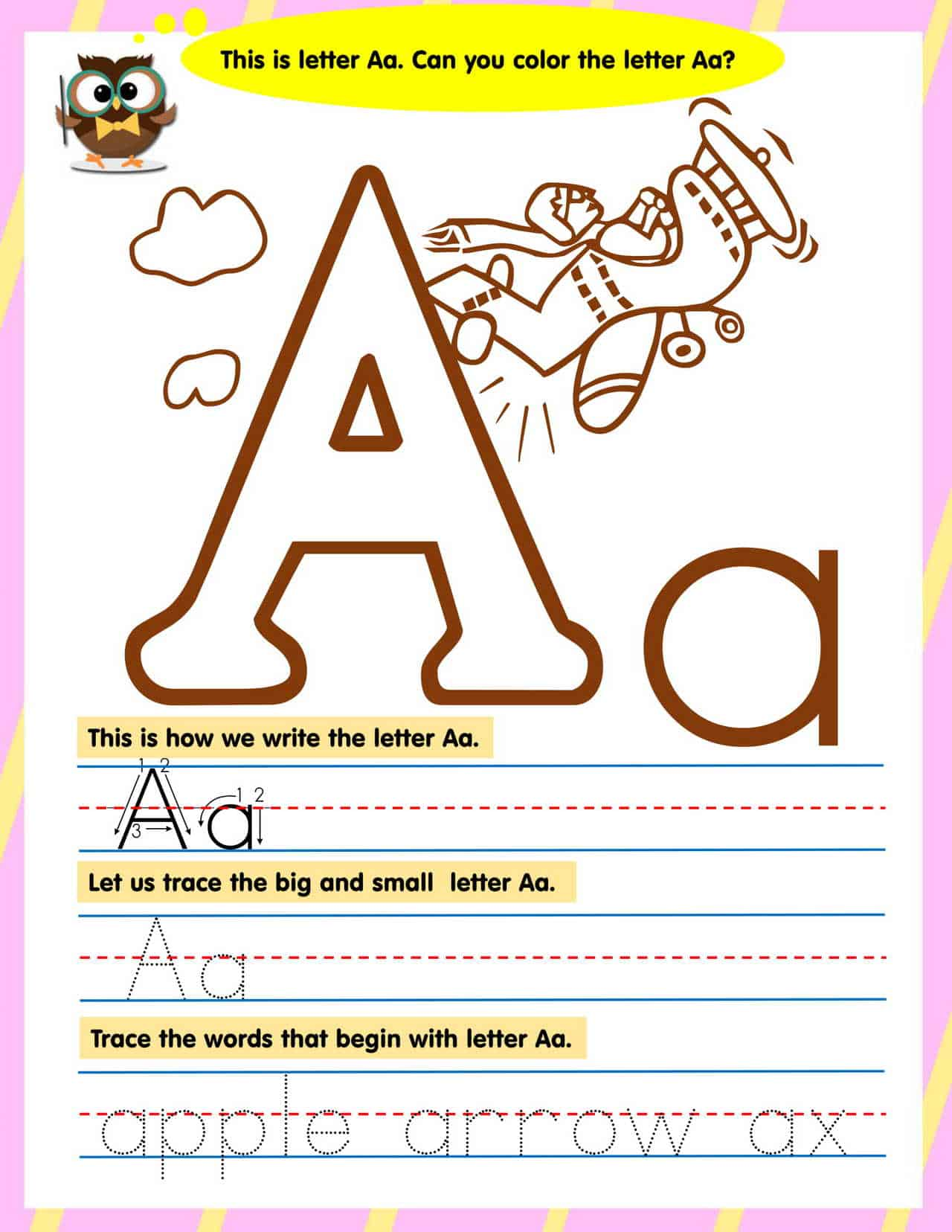 Preschool English Workbook Reading Amp Writing