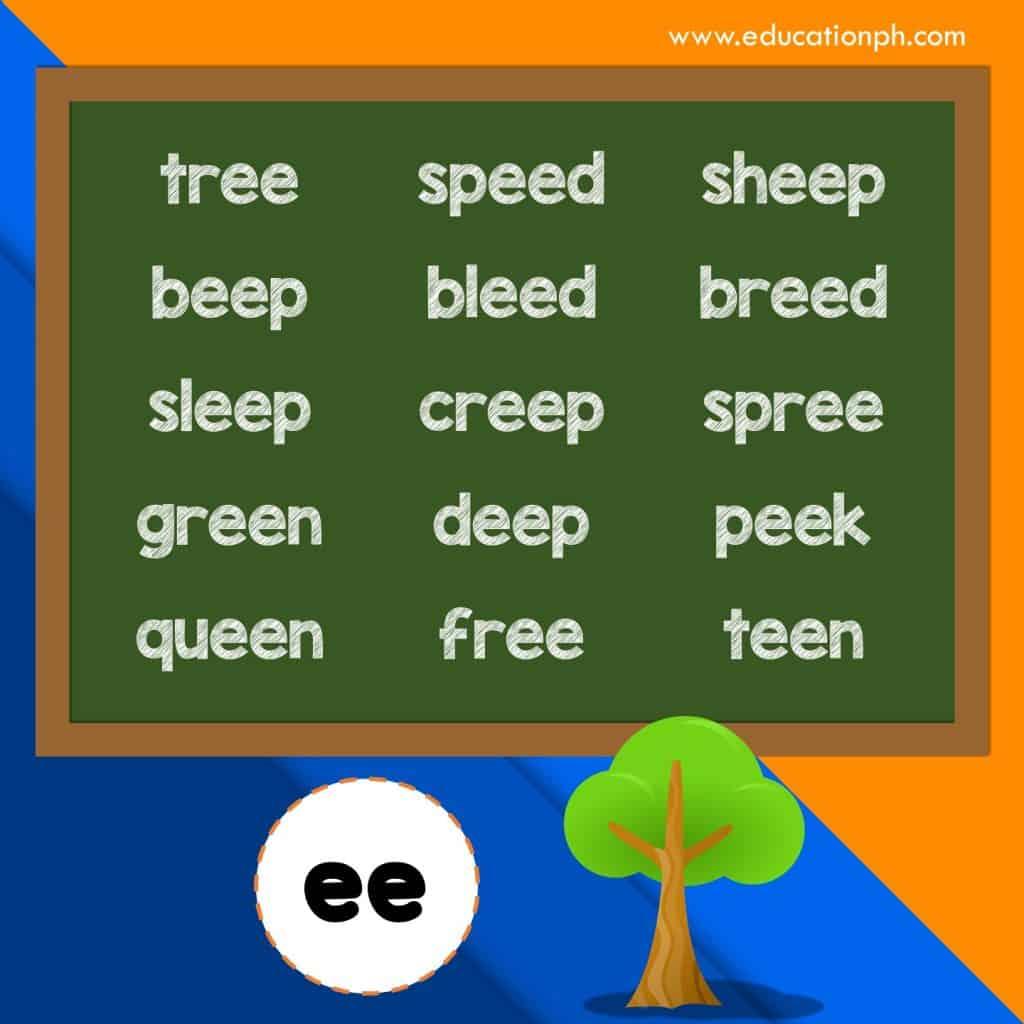 Grade 1 Worksheets Vowel Blends