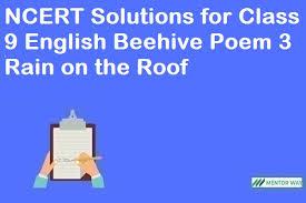 """AY 2020-21 में कक्षा 9 Digilep अंग्रेजी """" The Rain on The Roof """" और हिंदी """" वाख भाग - 2 """" 19-10-2020"""