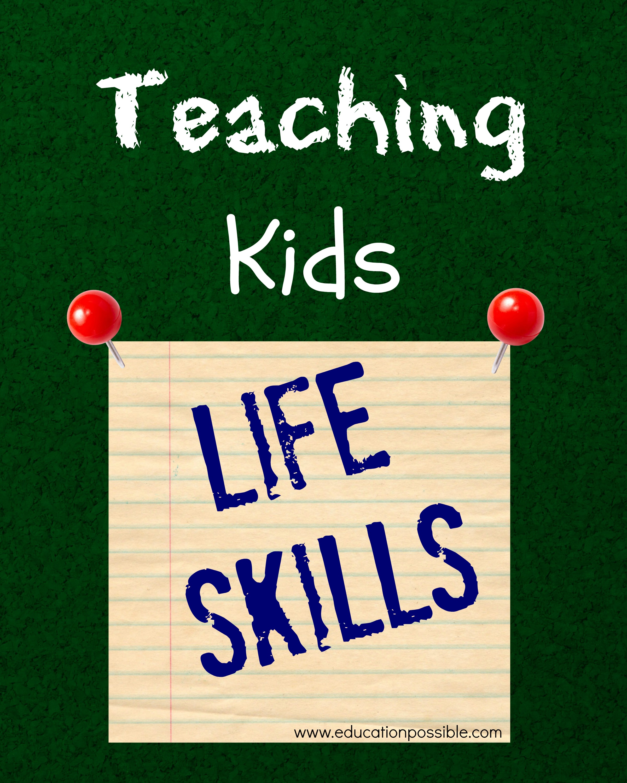 Teaching Kids Life Skills Food Shopping