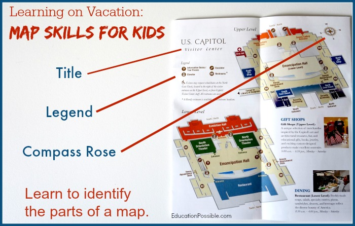 Learning on Vacation: Map Skills for Kids on identify parts of a letter, identify c on this map, identify parts of a newspaper, identify parts of a telescope, identify parts of an invoice, mercator projection map, london england united kingdom map, world map, identify parts of a graph, identify parts of a circle, identify parts of a boat, pierce idaho map, caribbean islands country map, road map, sample of a life map, parts of the map, identify parts of a check, components of a map, basic features of a map, modern day map,