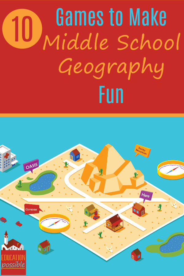 Middle School Geography Games