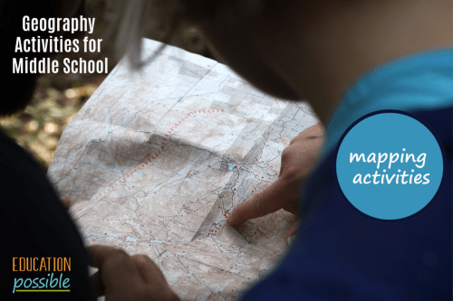 Geography Activities for Middle on rubric for maps, uses for maps, clip art for maps,