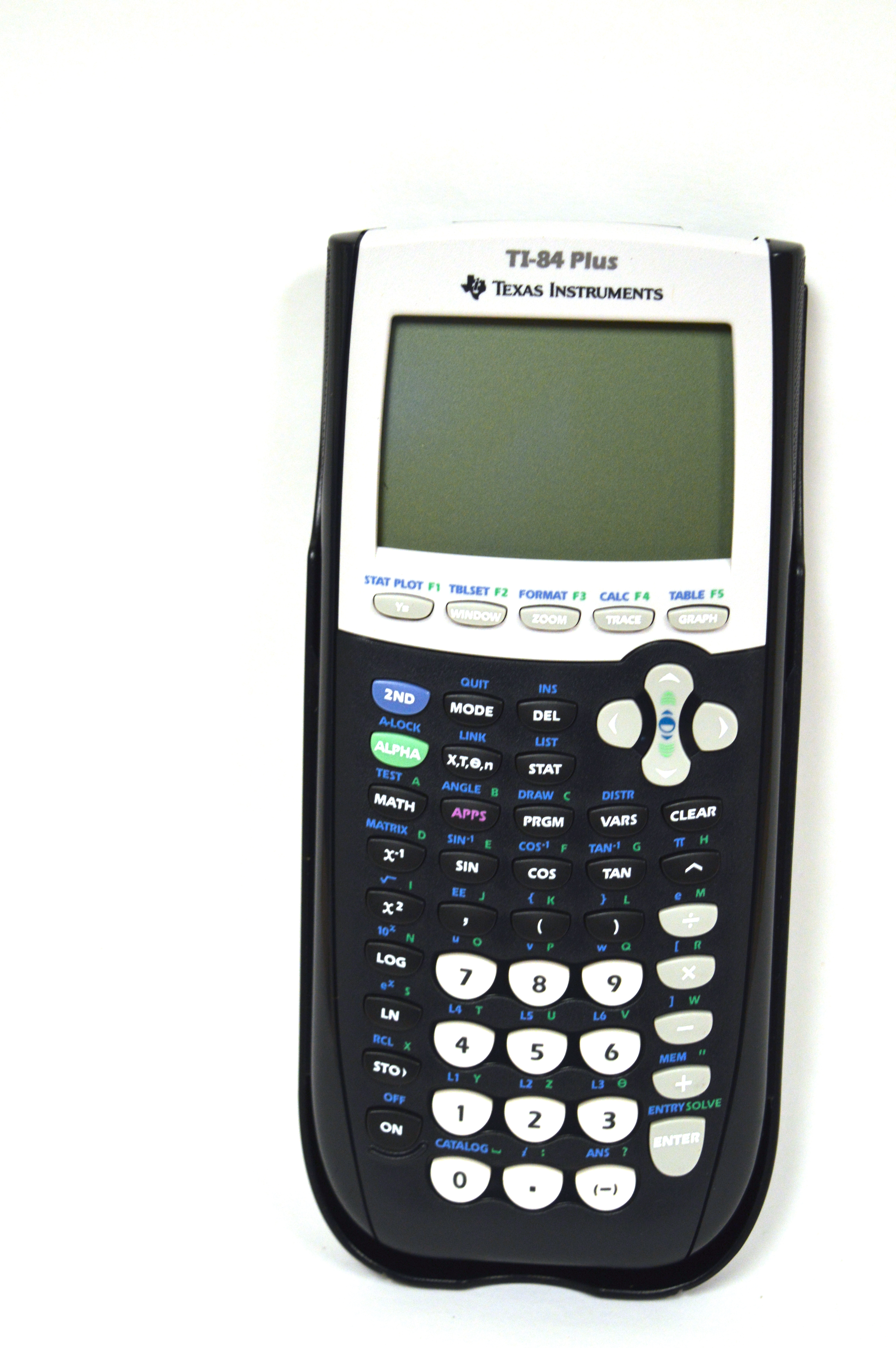 Texas Instruments Ti 84 Plus Graphing Calculator With 30v