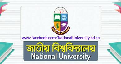 National University Bangladesh Honours 3rd year Challenge Result 2018 has published by the authority.