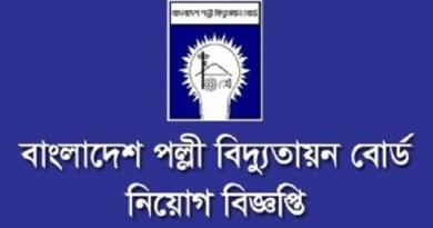 Bangladesh Palli Bidyut Samity Job Circular 2018 Download New Palli Bidyut Job Circular 2018 Download