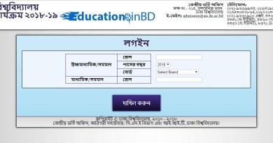 Dhaka University DU GA Unit Admission Test Result Circular 2018