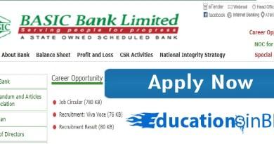Basic Bank Job Circular 2018