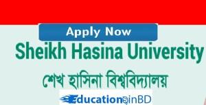Sheikh Hasina University Admission Result 2018-2019 Sheikh Hasina University Admission Circular Result 2018-2019