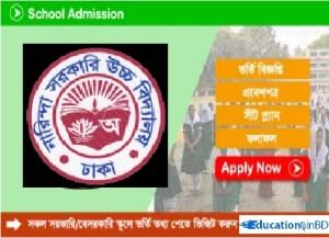 Narinda Government High School Admission Notice Result 2020 Download