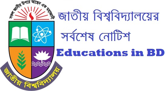 National University Preliminary to Masters Admission Registration Card Issue Related Notice 2020