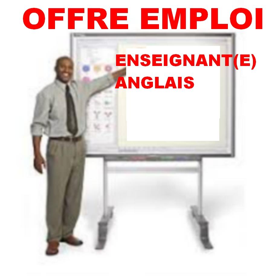 recrutement  enseignant anglais