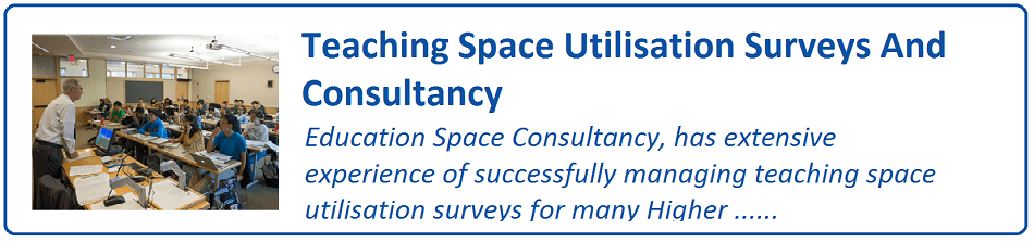 Teaching Space Utilisation Surveys and Consultancy