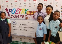SSS 3 student wins N50, 000 first prize in Poetry Blast competition