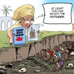 I'm surprise people in authority take us serious says cartoonist who captured Buhari's daughter's wedding