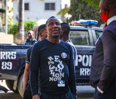 FG remands Sowore, four others in Kuje Prison over protest