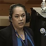 Linda Lozano testifies to the Office of the Superintendent of Public Instruction