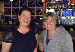 Nancy Chamberlain (L) and Wendy Reynolds are the May Activists of the Month