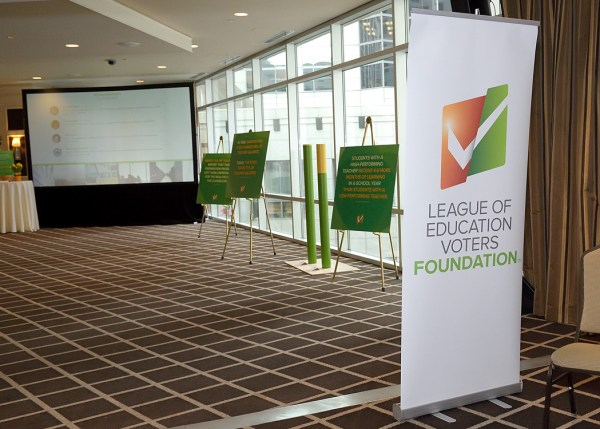 League of Education Voters 2017 Annual Breakfast - Lobby interactive exhibit