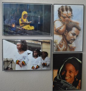 East African Development Center wall art - League of Education Voters