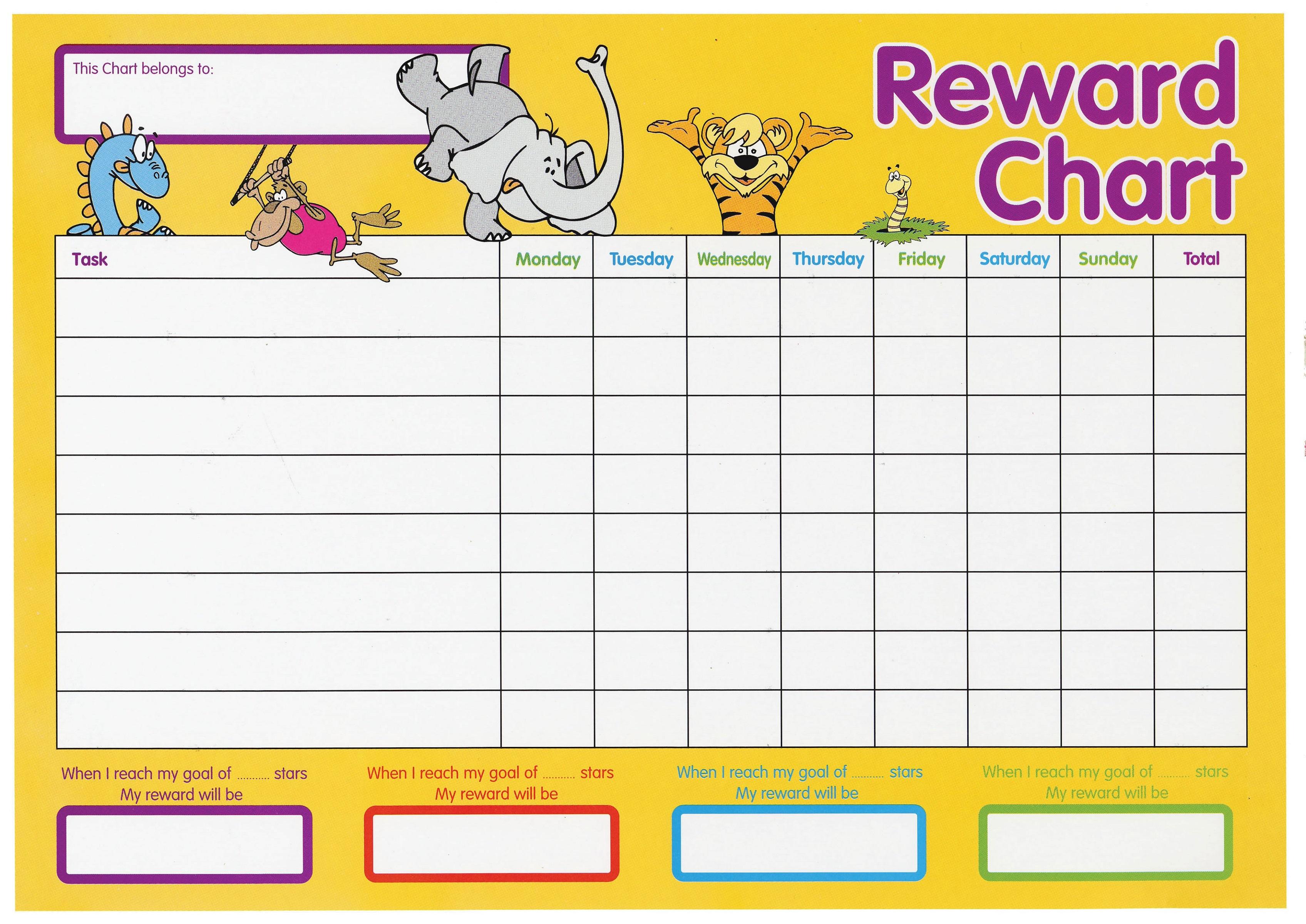 Printable Reward Chart Free