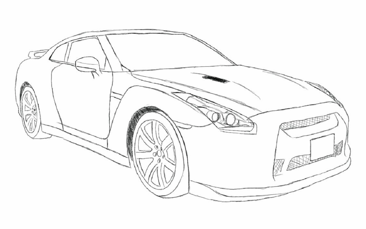 Fast And Furious Coloring Pages