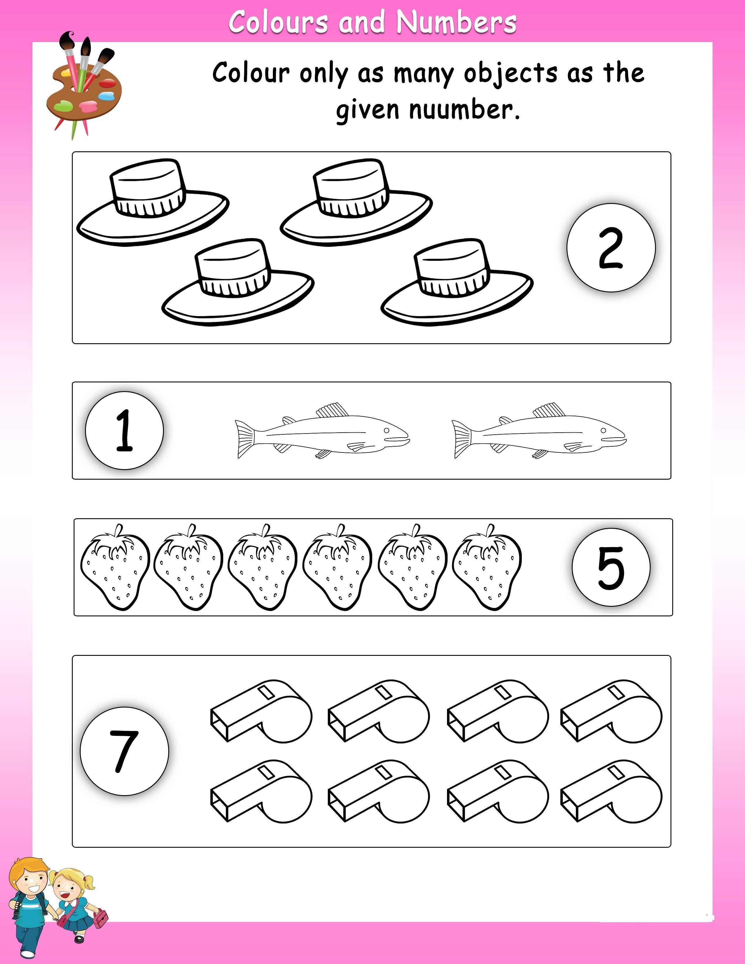 Numbers Worksheets For Students