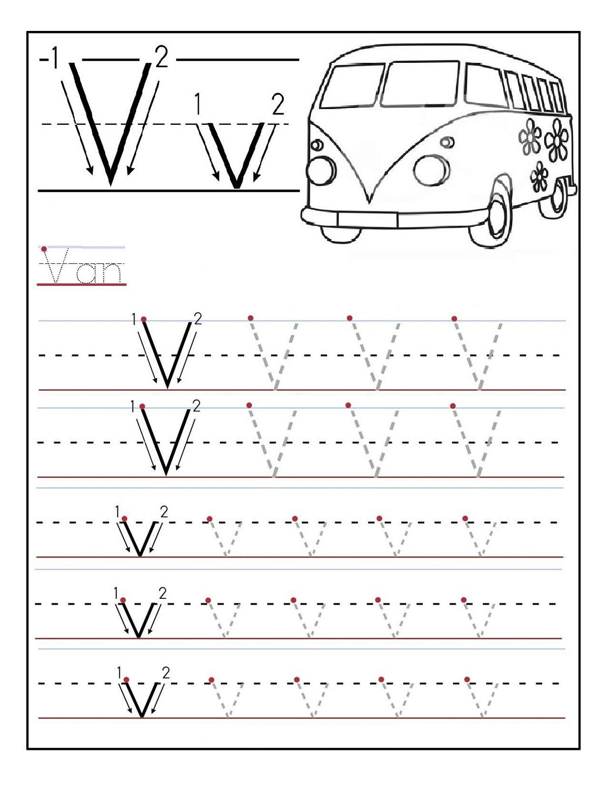 Alphabet Worksheets For Preschoolers 3