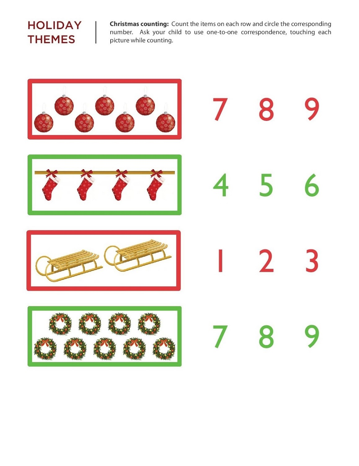 Free Numeracy Worksheets For Math Lovers