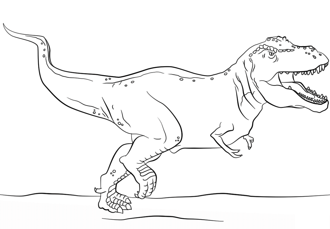 Jurassic Park Coloring Pages For Students