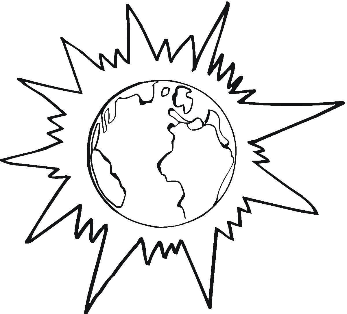 Eclipse Coloring Pages